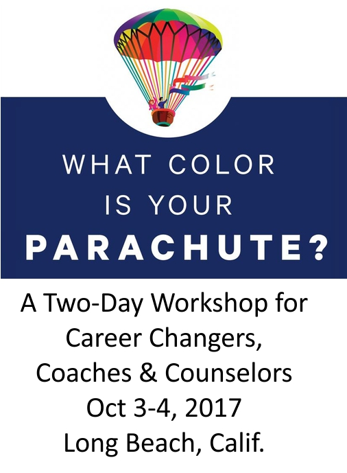 NEW: A 2-day Workshop for Coaches, Counselors and Career Changers in Long Beach, Calif., Oct. 3-4, 2017